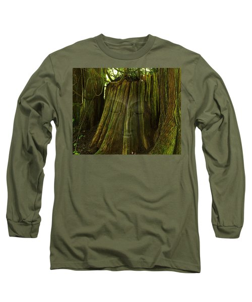 Nature Buddha Long Sleeve T-Shirt