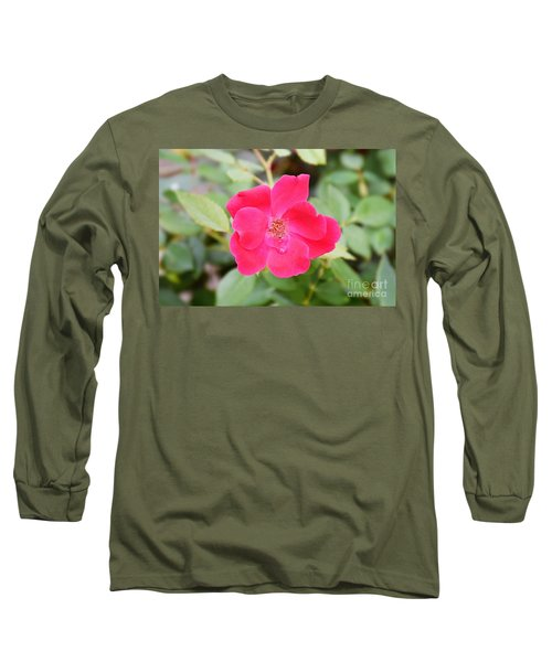 Long Sleeve T-Shirt featuring the photograph Nature - Colorful Flower Gifts  by Ray Shrewsberry