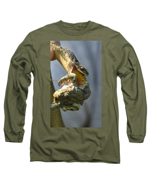 Nature Is Beguiling Long Sleeve T-Shirt by Lisa DiFruscio