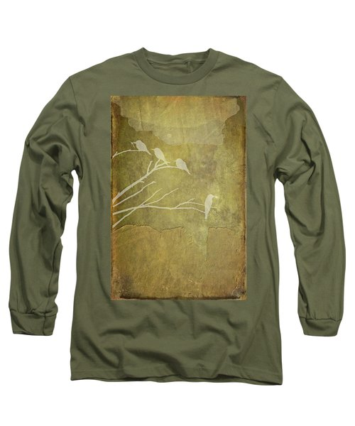 Nature Study In Gold  Long Sleeve T-Shirt