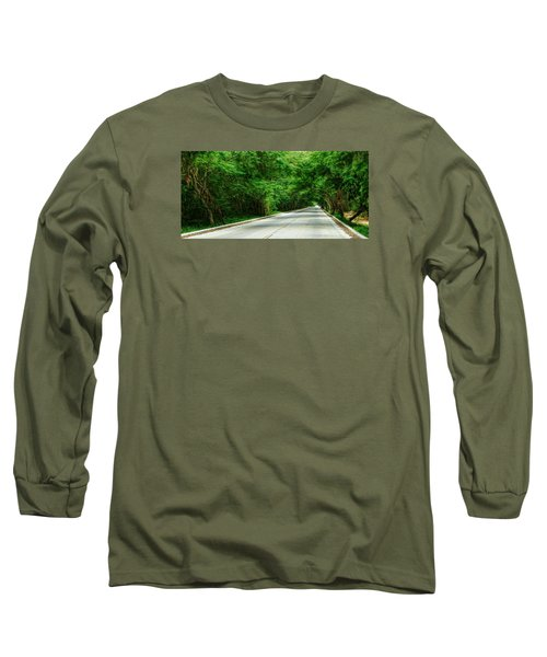Long Sleeve T-Shirt featuring the photograph Nature's Canopy by Cameron Wood