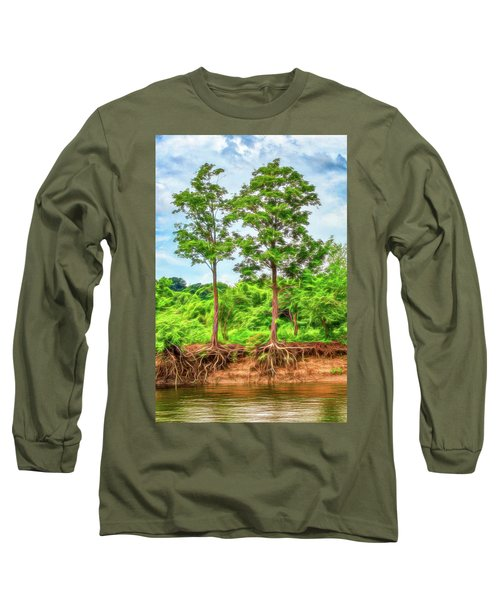 Nature's Electricity Long Sleeve T-Shirt