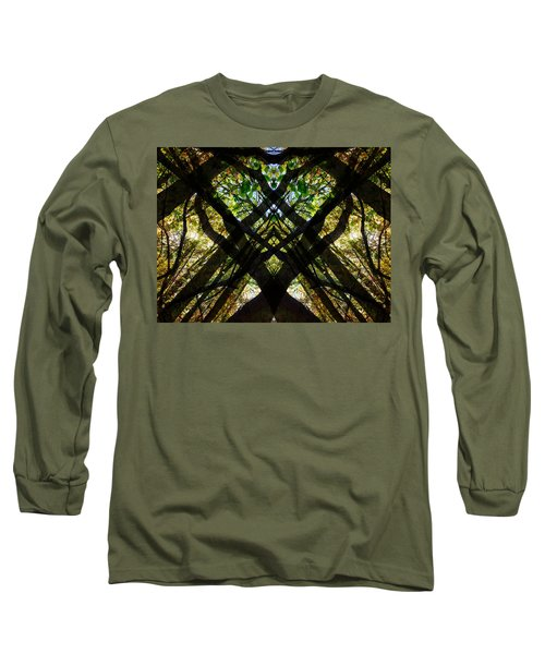 Natures Stain Glass Long Sleeve T-Shirt