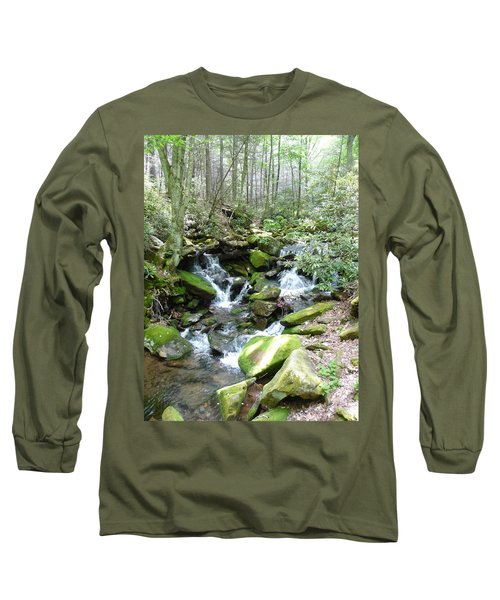 Long Sleeve T-Shirt featuring the photograph Near The Grotto by Joel Deutsch
