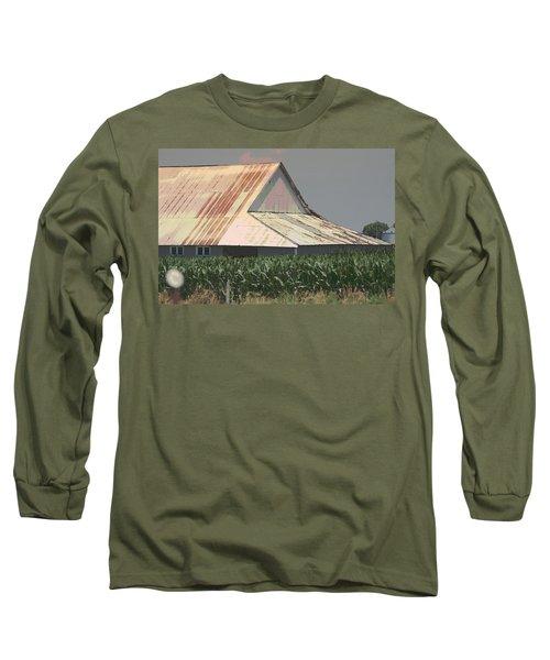 Nebraska Farm Life - The Tin Roof Long Sleeve T-Shirt
