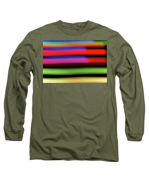 Neon Stripe Long Sleeve T-Shirt