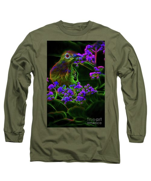 Neon Sunbird Long Sleeve T-Shirt