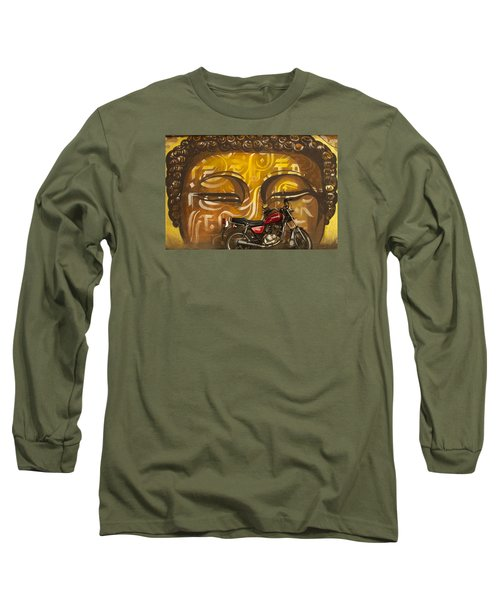 Nepal Buddha Long Sleeve T-Shirt