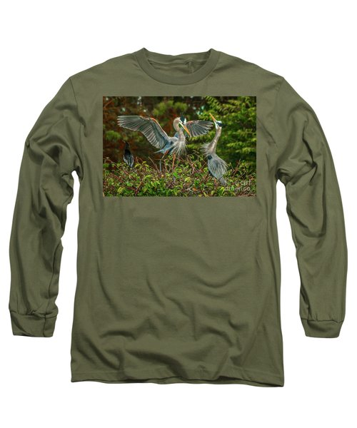 Nest Landing Long Sleeve T-Shirt