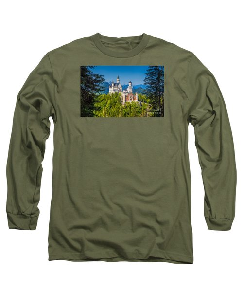 Neuschwanstein Fairytale Castle #2 Long Sleeve T-Shirt by JR Photography