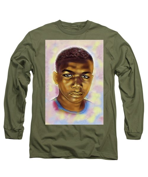 Never Forget Trayvon Long Sleeve T-Shirt