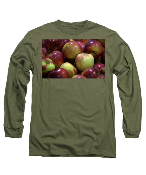 New Apples Long Sleeve T-Shirt by Joseph Skompski