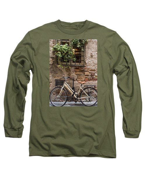 New Bike In Old Lucca Long Sleeve T-Shirt
