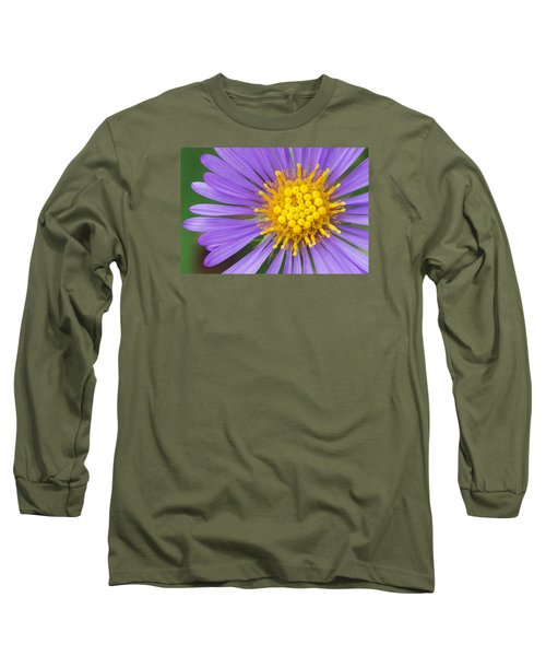 New England Aster Long Sleeve T-Shirt