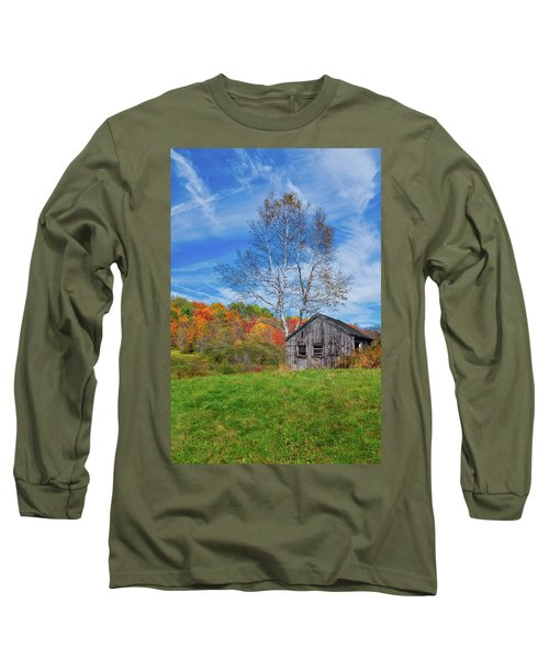New England Fall Foliage Long Sleeve T-Shirt
