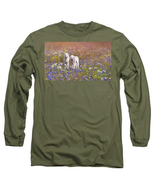 New Life Long Sleeve T-Shirt by Eva Lechner
