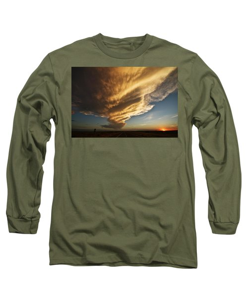 New Mexico Structure Long Sleeve T-Shirt