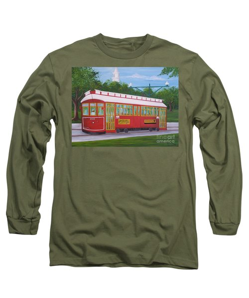 New Orleans Streetcar Long Sleeve T-Shirt