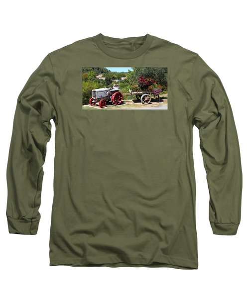 Long Sleeve T-Shirt featuring the photograph New Pastures by Richard Patmore