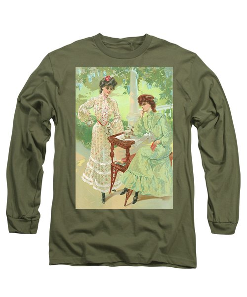 New York 1904 Fashion Art 7 Long Sleeve T-Shirt