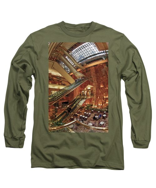 Long Sleeve T-Shirt featuring the photograph New York Trump Tower  by Juergen Held