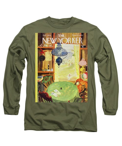 New Yorker August 1 1959 Long Sleeve T-Shirt