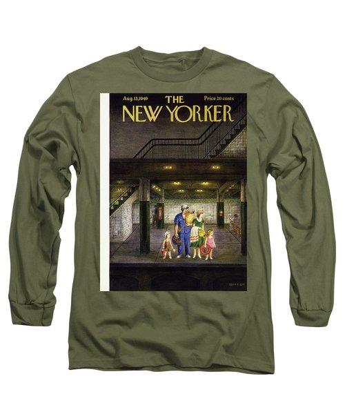 New Yorker August 13 1949 Long Sleeve T-Shirt