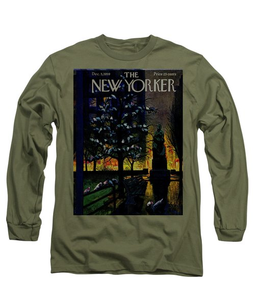 New Yorker December 5 1959 Long Sleeve T-Shirt