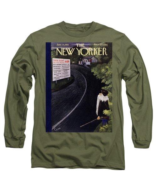 New Yorker June 14 1952 Long Sleeve T-Shirt