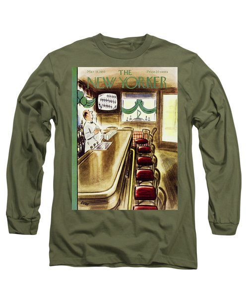 New Yorker March 19, 1955 Long Sleeve T-Shirt