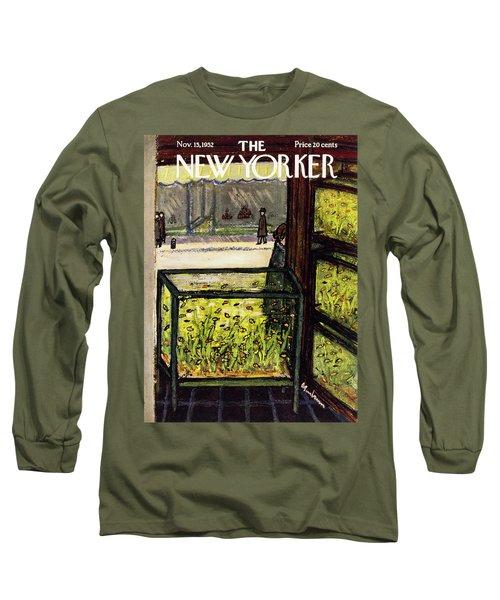 New Yorker November 15 1952 Long Sleeve T-Shirt