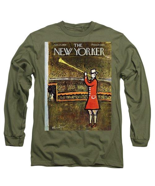 New Yorker October 27 1956 Long Sleeve T-Shirt