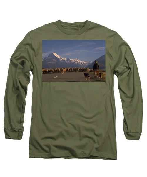 New Zealand Mt Cook Long Sleeve T-Shirt