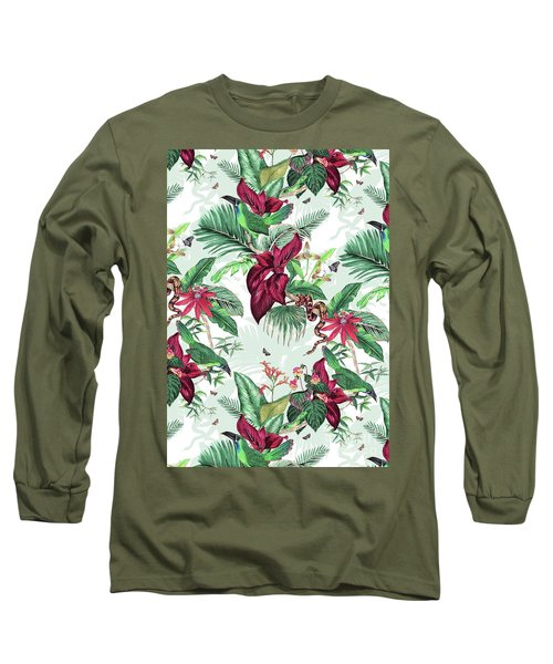 Nicaragua Long Sleeve T-Shirt by Jacqueline Colley