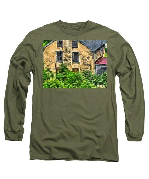 Niccolo Long Sleeve T-Shirt by Trish Tritz