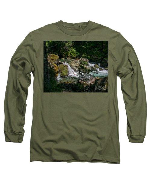 Nickel Creek 0715 Long Sleeve T-Shirt by Chuck Flewelling