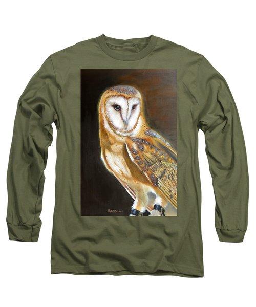Night Angel Long Sleeve T-Shirt by Phyllis Beiser