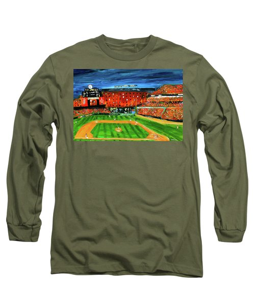 Night At The Yard Long Sleeve T-Shirt