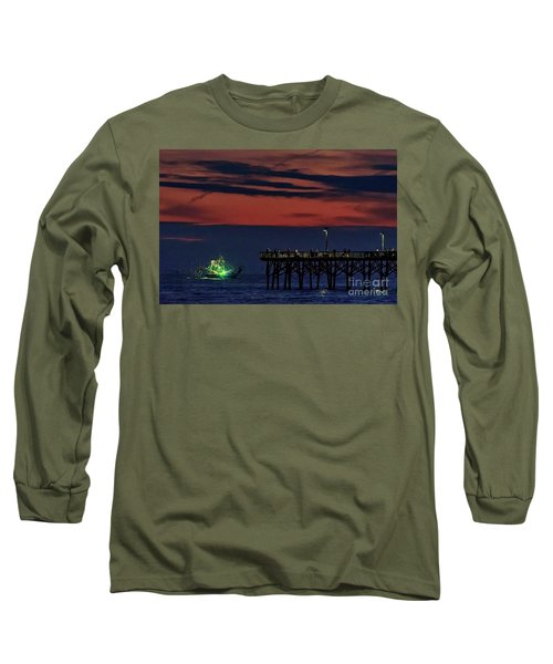 Night Fishing Long Sleeve T-Shirt
