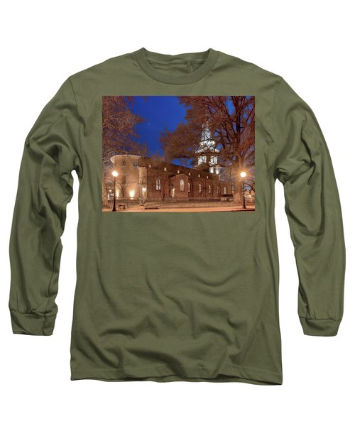 Night Lights St Anne's In The Circle Long Sleeve T-Shirt