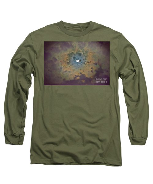 Night Moon Long Sleeve T-Shirt