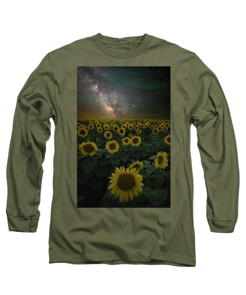 Night Of A Billion Suns Long Sleeve T-Shirt