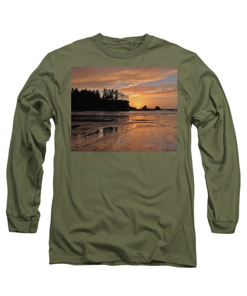 Night Pastel Long Sleeve T-Shirt