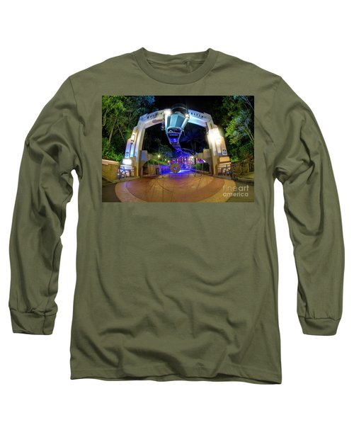 Night Ride On The Rock And Roll Coaster Long Sleeve T-Shirt