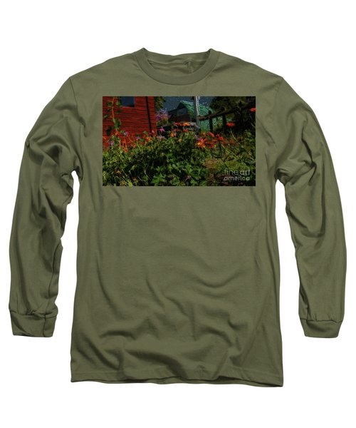 Night Shift For The Mice Long Sleeve T-Shirt