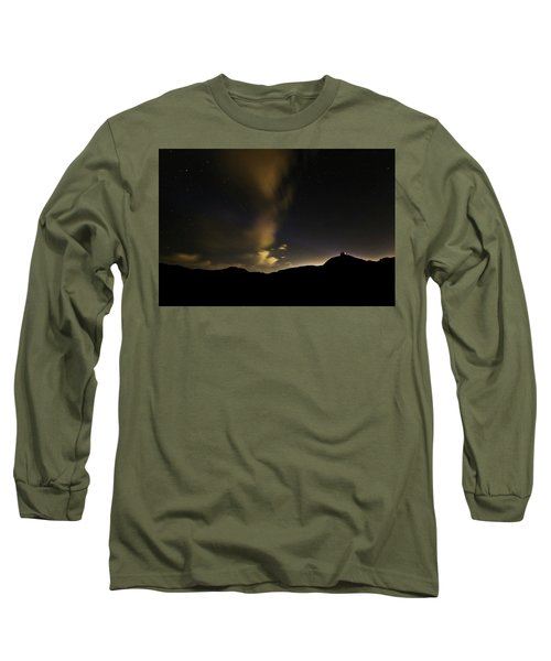 Night Time At Palo Duro Canyon State Park - Texas Long Sleeve T-Shirt