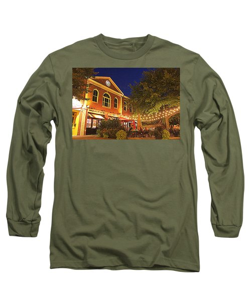 Nightime In Newburyport Long Sleeve T-Shirt