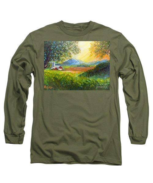Nixon's Majestic Farm View Long Sleeve T-Shirt by Lee Nixon