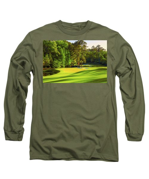 No. 11 White Dogwood 505 Yards Par 4 Long Sleeve T-Shirt