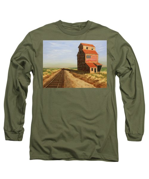 No Grain, No Train Long Sleeve T-Shirt